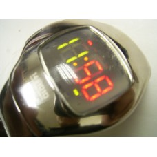 Japan 90's LED stainless steel  case watch 1481010 by Citizen